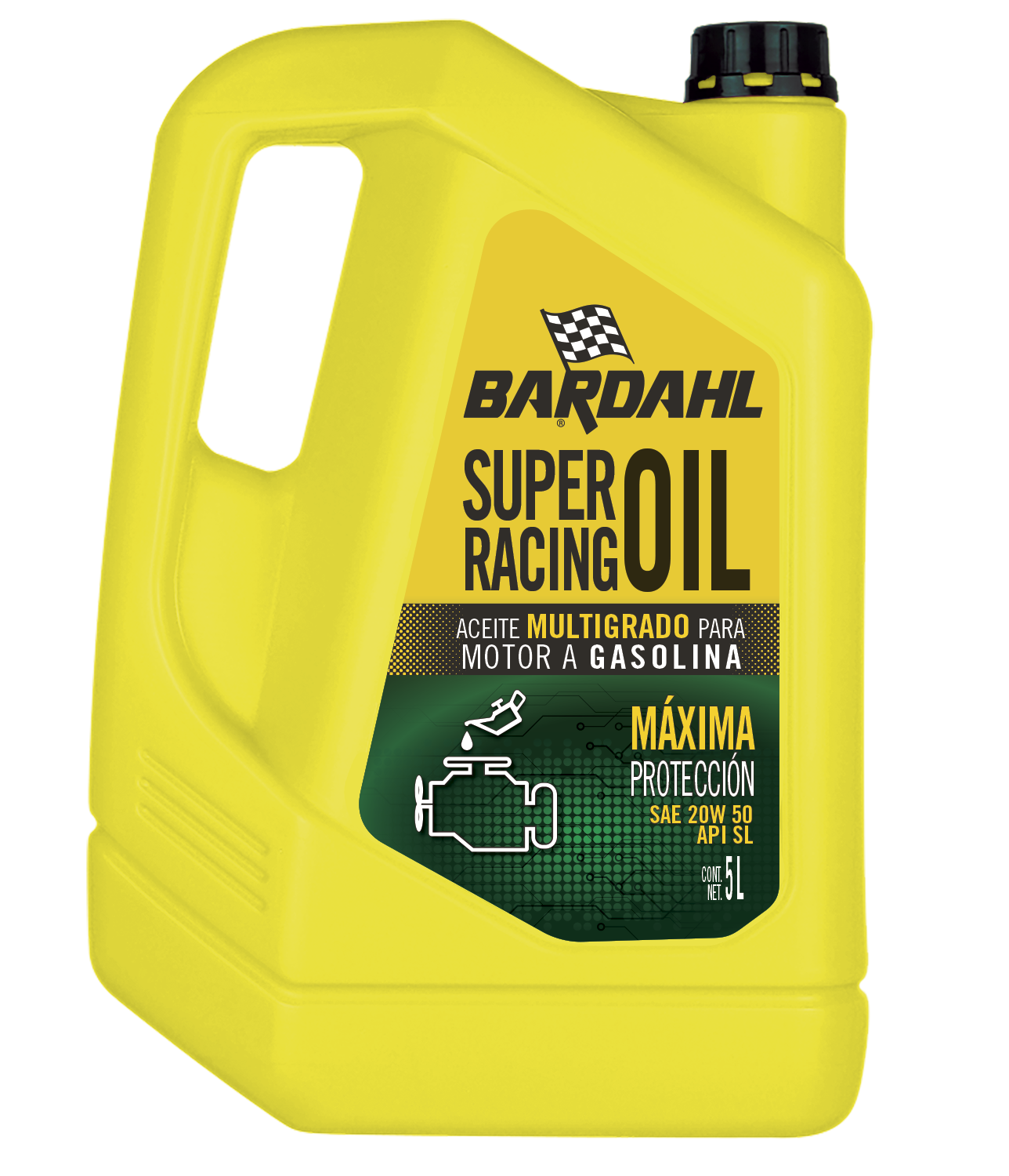 BARDAHL F-1 MR, Super Racing Oil SAE 20W50 API SL