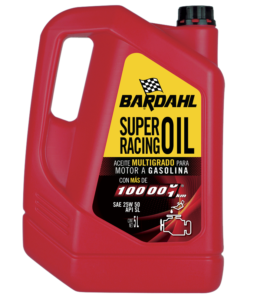 BARDAHL F-1 MR, Super Racing Oil para más de 100,000 km SAE 25W50 API SL