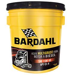 BARDAHL SUPER DIESEL OIL MB-3 CI-4/SL SAE 15W40
