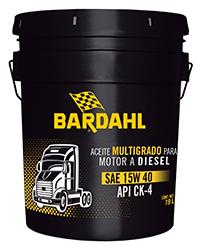 Bardahl Super Diesel Oil SAE 15W40 API CK-4