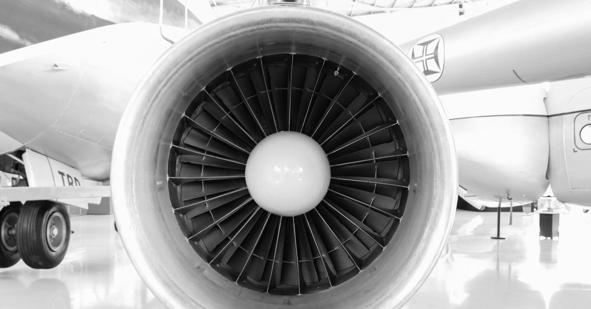 Función del aceite lubricante en motor de avión