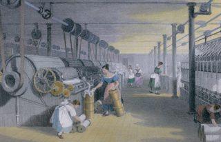 ¿Cómo cambió la revolución industrial la manufactura?