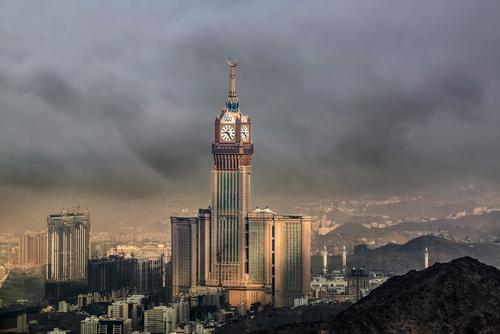 Abraj Al Bait en Mecca, Arabia Saudita
